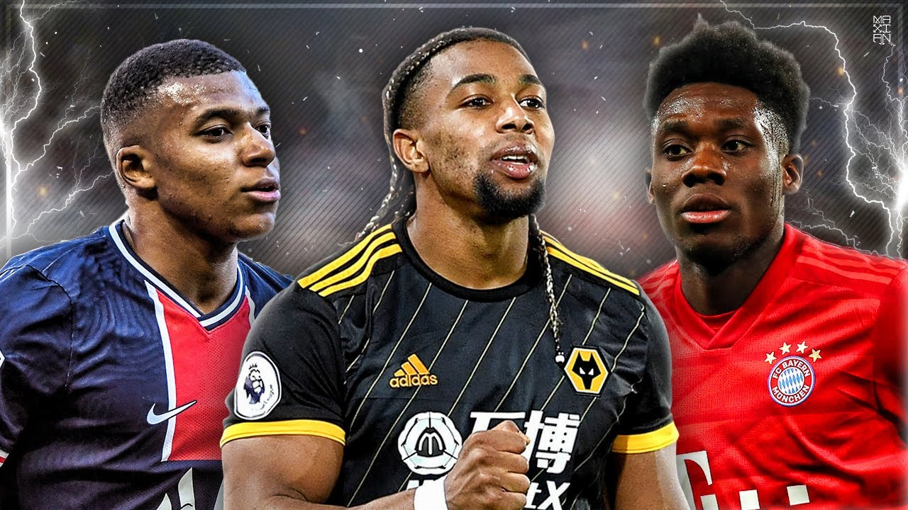 Adama Traore Is Fast But Mbappe Is Unstoppable Speed Battle Hd Youtube