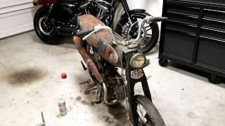 Honda S65 1965 Project Part 1
