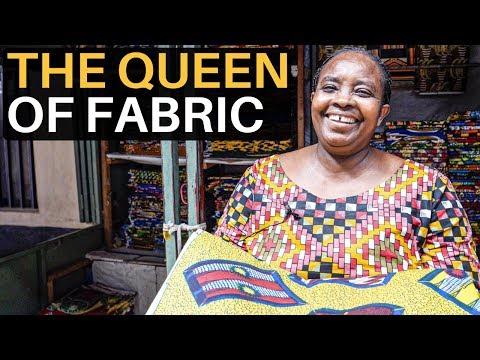 The QUEEN of FABRIC (Bernadette from Burundi)