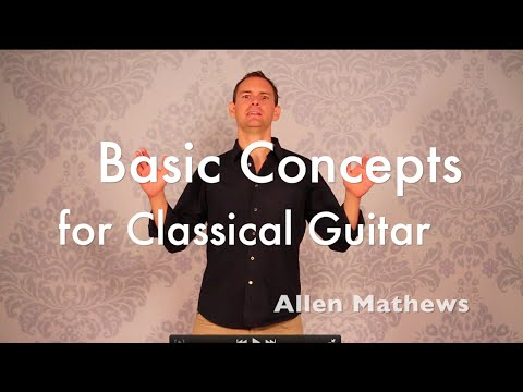 Fundamental Concepts of Classical Guitar Technique