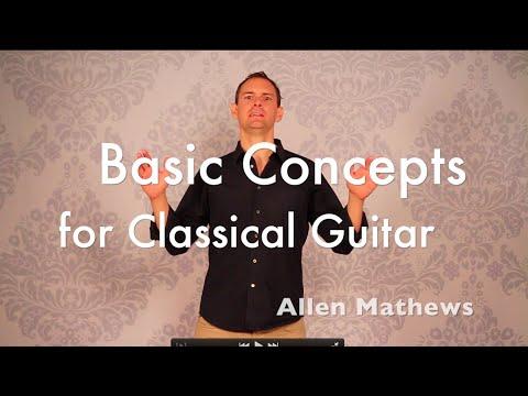 Fundamental Concepts Of Cl Ical Guitar Technique