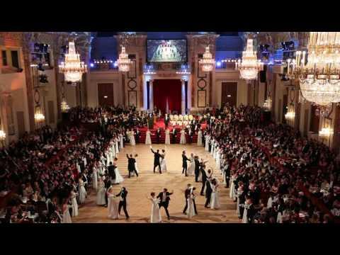 IAEA Staff Association Ball 2017 - Wiener Walzer Formation der Tanzschule Elmayer