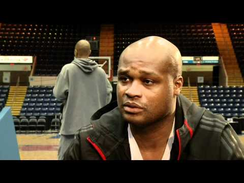 Antoine Walker comes to Springfield MA