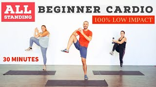 Low impact, beginner, fat burning, home cardio workout. ALL standing! screenshot 3