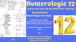 Numerologie 12