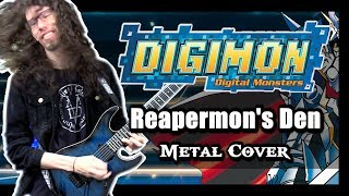 "Digimon Rumble Arena METAL ""Reapermon's Den"" Cover by ToxicxEternity"