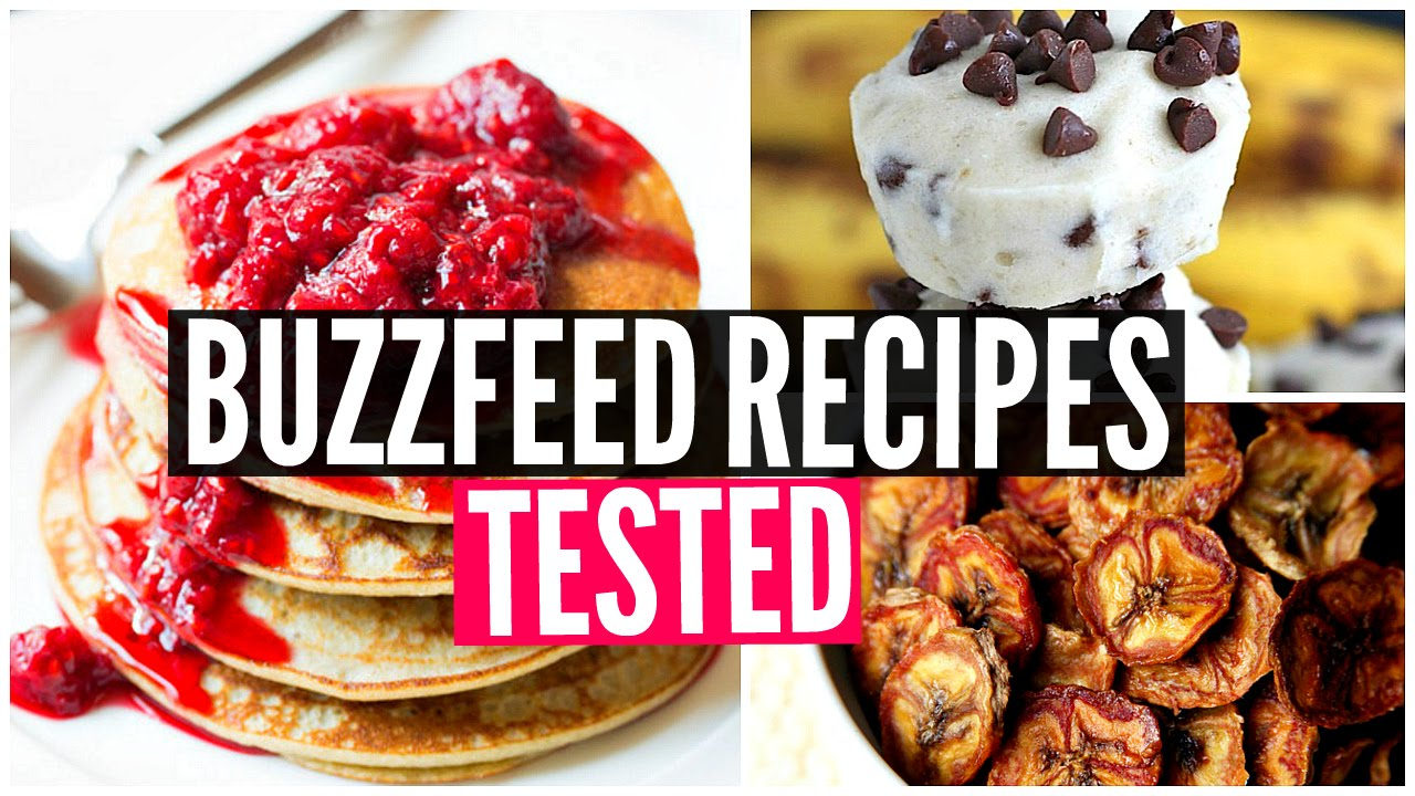 Buzzfeed food recipes tested 3 ingredient snacks taste test youtube forumfinder Choice Image