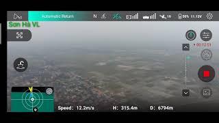 Hubsan zino pro + (Plus). Bay test tầm xa đạt 7000m vẫn trưa mất sóng so với nsx công bố là 8000m.