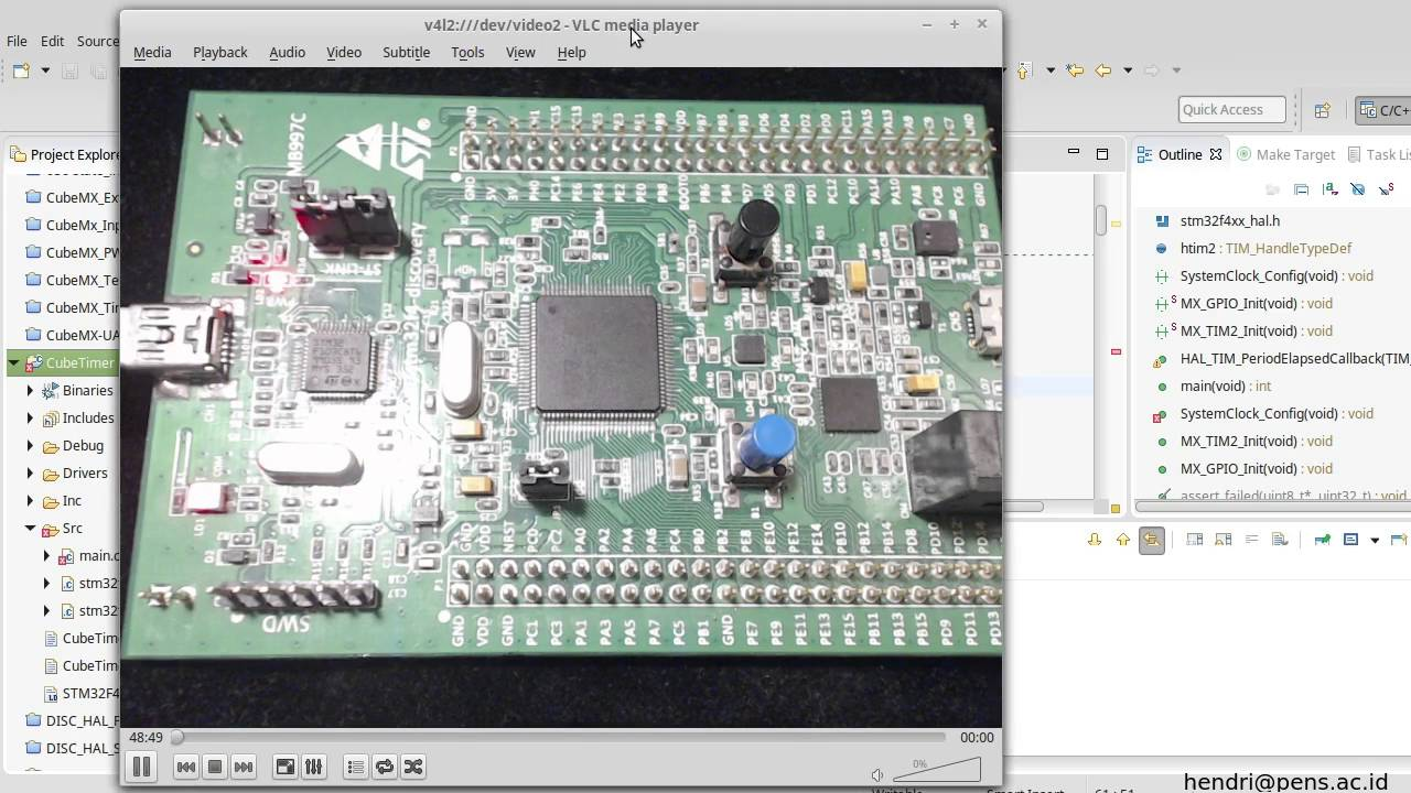 System Workbench (AC6) with CubeMX Tutorial on linux- 02 HAL Timer
