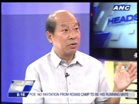 ABAD HITS BACK AT CRITICS OF GOVERNMENT'S YOLANDA REHAB EFFORTS