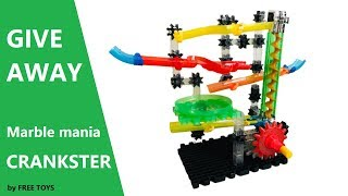 Learning Journey_STEM_Techno Gear Marble Mania CRANKSTER 2.0 w/ marble lifter & colourful tracks!