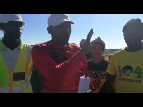Steve Biko residents in Wesselton are livid after being served to vacate land in Ext 3