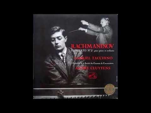 """Rachmaninov """"Piano Concerto No 2"""" Gabriel Tacchino/André Cluytens"""