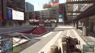PS4 - Battlefield 4 64 Man Siege of Shanghai - Conquest Large Gameplay