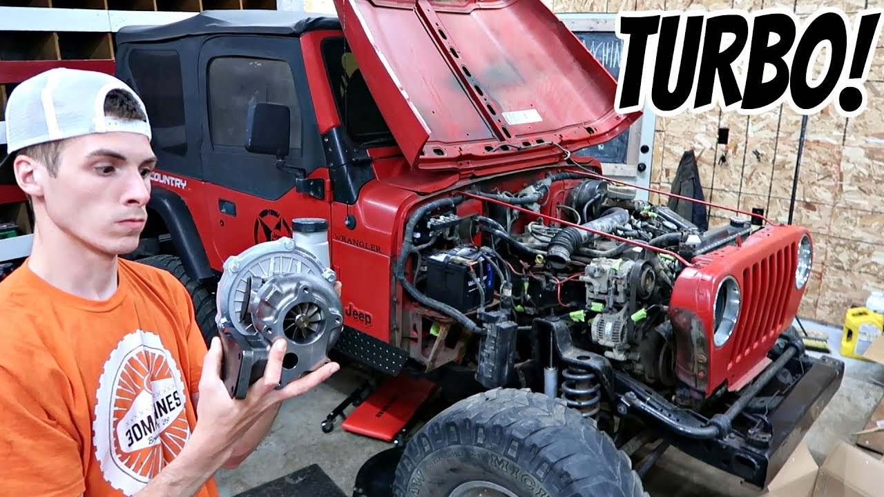 THE JEEP RUNS. TURBO CHARGER TIME!!