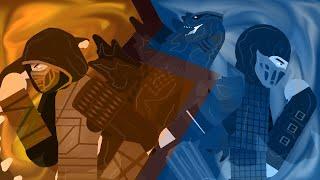 If Godzilla Was In Mortal Kombat... (Godzilla VS Mortal Kombat)