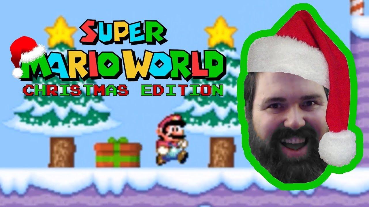 Super Mario World Christmas.Tis The Season Super Mario World Christmas Edition