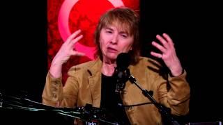 """Glittering Images"" author Camille Paglia in Studio Q"