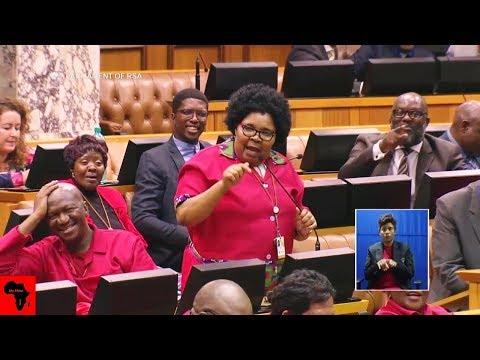 EFF Mam`Khawula Stirs Up Parliament Again