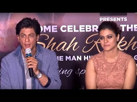 Shah Rukh Khan Comments on his Pairing with Kajol