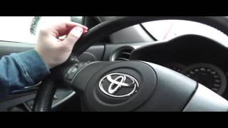 Автонакат - Как правильно вращать руль автомобиля.