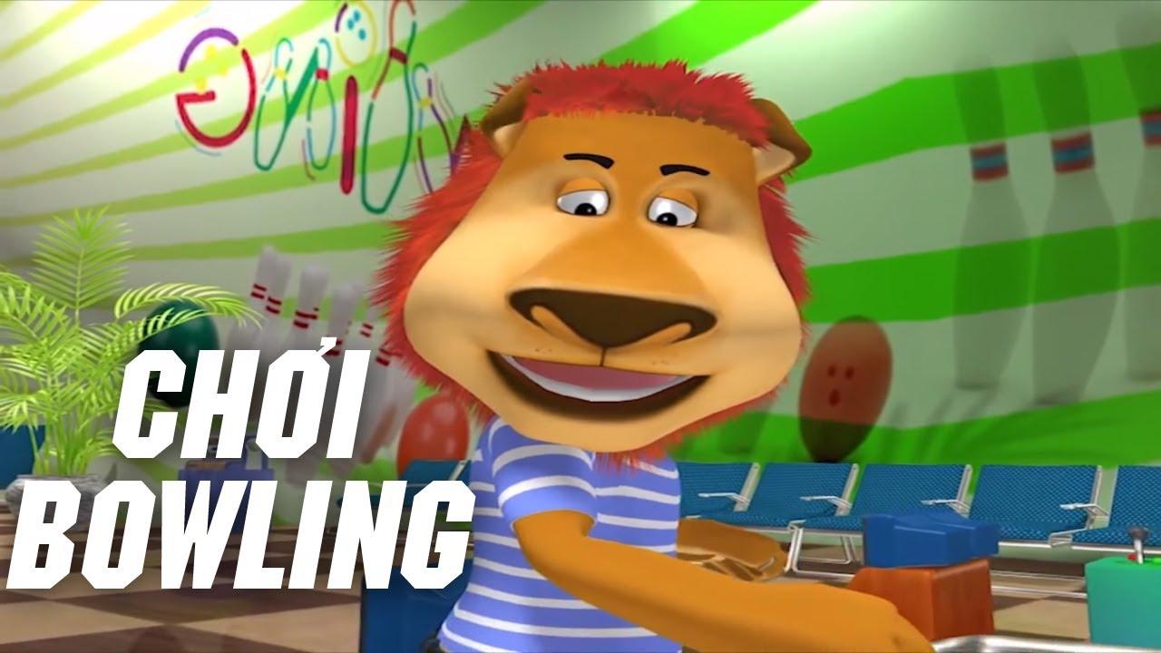 Phim hoạt hình 3D vui nhộn – CHƠI BOWLING – Hoạt hình Việt Nam