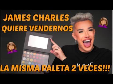 JAMES CHARLES *quiere* VENDERNOS LA MISMA PALETA 2 VECES !!!😡😡 thumbnail