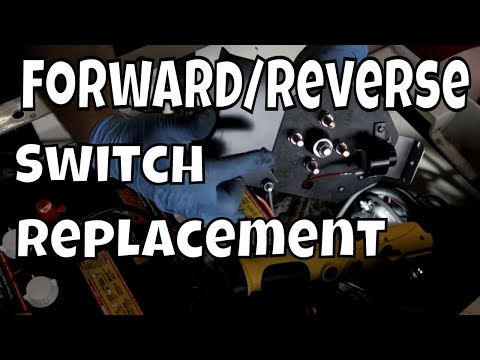 1996 EZGO TXT, 36 Volt - Replace Forward/Reverse Switch