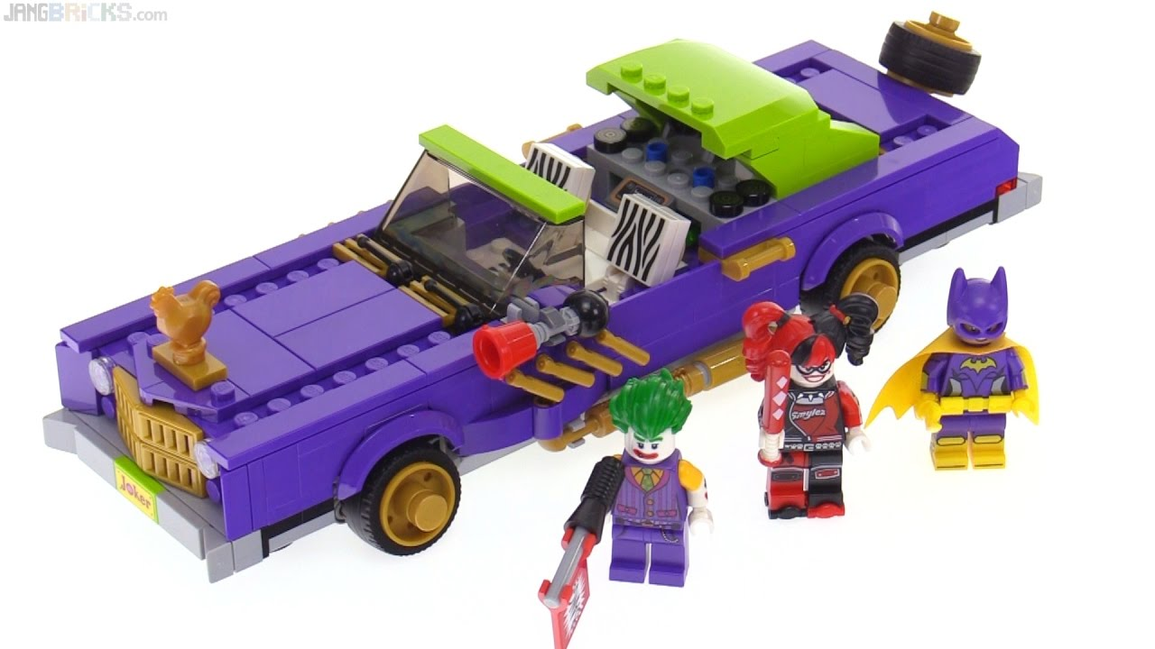 Lego Batman Movie The Joker Notorious Lowrider Review 70906