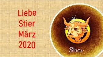 Taroskop Stier Liebe März 2020