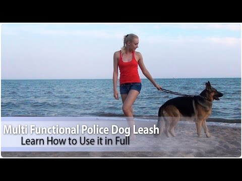 """1/2""""-wide-multi-functional-police-dog-leash---learn-how-to-use-it-in-full"""