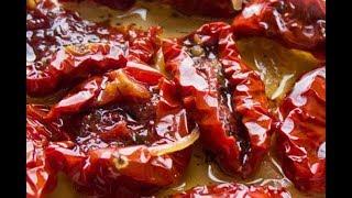 Мамин секретный рецепт вяленых томатов просто пальчики оближешь
