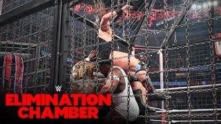 Tucker turns the Elimination Chamber upside-down: WWE Elimination Chamber 2020