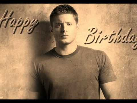 Jensen Ackles happy birthday