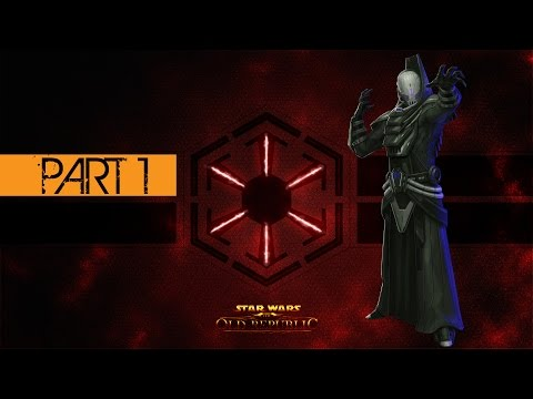 Star Wars The Old Republic Sith Inquisitor Gameplay Walkthrough Part 1 - Korriban Training