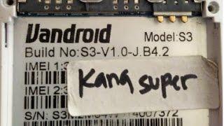 Cara Flash Advan S3 Build No :  S3-V1.0-JB4 2