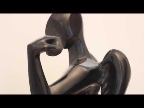 "Salvador Dali's ""Cubist Angel"" (73cm- Prestige-scale bronze)"