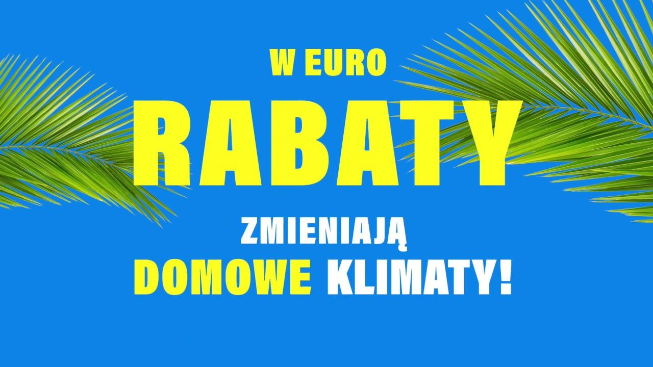Rabaty zmieniają domowe klimaty - spot promocyjny - RTV EURO AGD