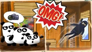 New 3 Panda Story | Kids Play and Puzzles Rescue Baby Pandas - Fun Japan Adventure Kids Games