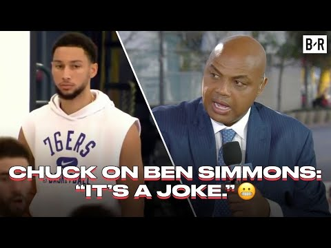Chuck Reacts To Ben Simmons Getting Suspended From 76ers