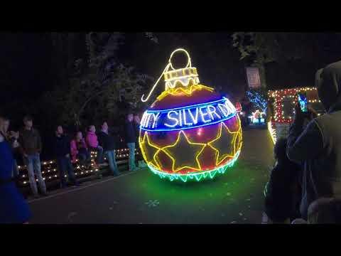 2018 Silver Dollar City Christmas Light Parade