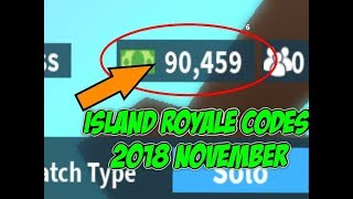 ISLAND ROYALE CODE 2018 NOVEMBER (ROBLOX FORTNITE) Plus Editing