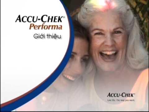 Accu-Chek - Giới thiệu Máy đo đường huyết Accu-Chek Performa
