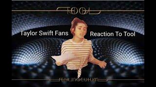 Taylor Swift Fans Vs. Tool Fans
