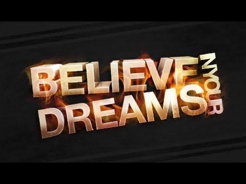 Speed Art: Believe in Your Dreams