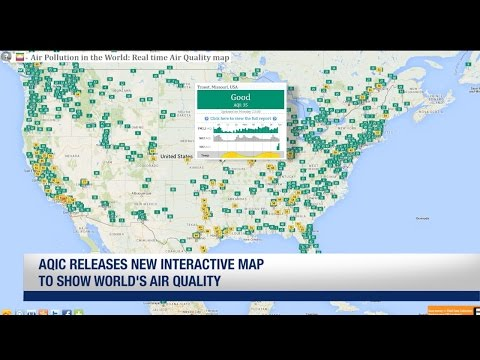 AQIC releases new interactive map to show world's air quality