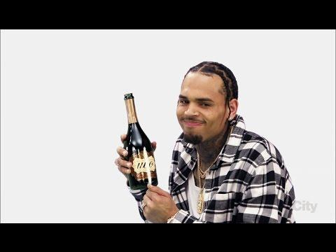 "Chris Brown on Blackish ""Put Some Uvo on It"" Ad"