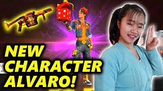 Free Fire NEW Character ALVARO - Full Details!