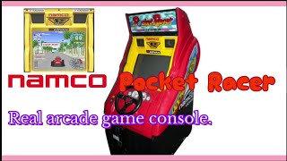 [진짜오락실 레이싱 게임기] 남코 포켓레이서(Namco…