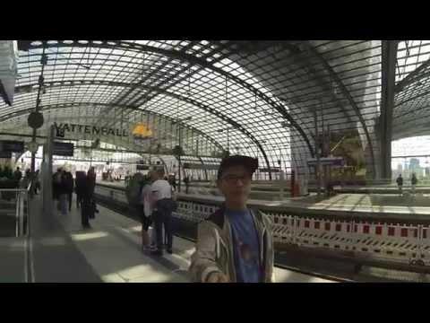 GoPro Berlin Hauptbahnhof ( Berlin Central Station)